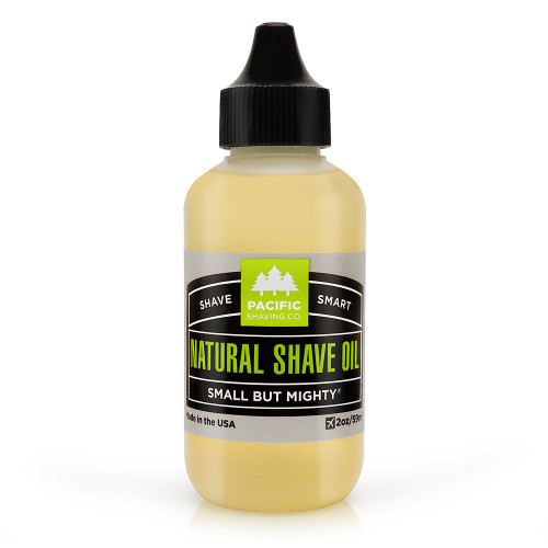 Pacific Natural Shaving Oil 2 oz