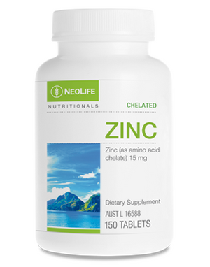 Highly bioavailable zinc supplement for optimising immune function.