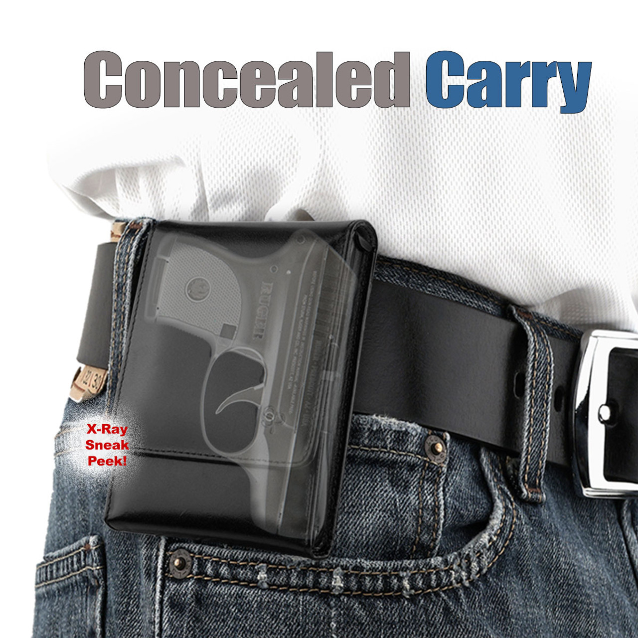 Keltec P3AT Concealed Carry Holster (Belt Loop)