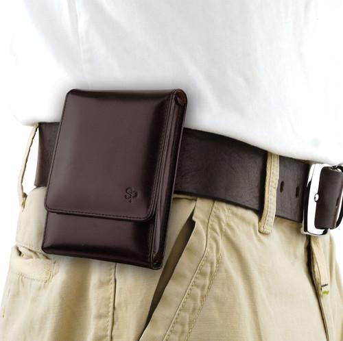 Ruger SR40c Brown Leather Holster