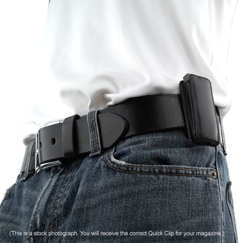 Glock 43 Quick Clip Magazine Holster