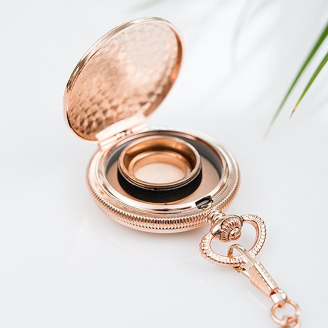 Pocket Wedding Ring Holder I Do
