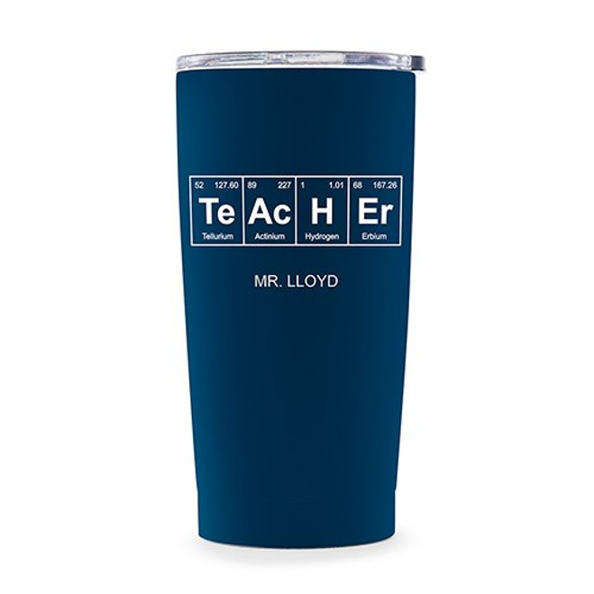 personalized travel mug teacher gift