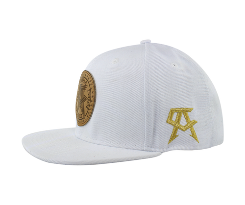 White out Suede  Snapback