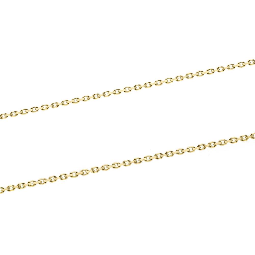 Vintage 18 kt Gold Link Chain from France
