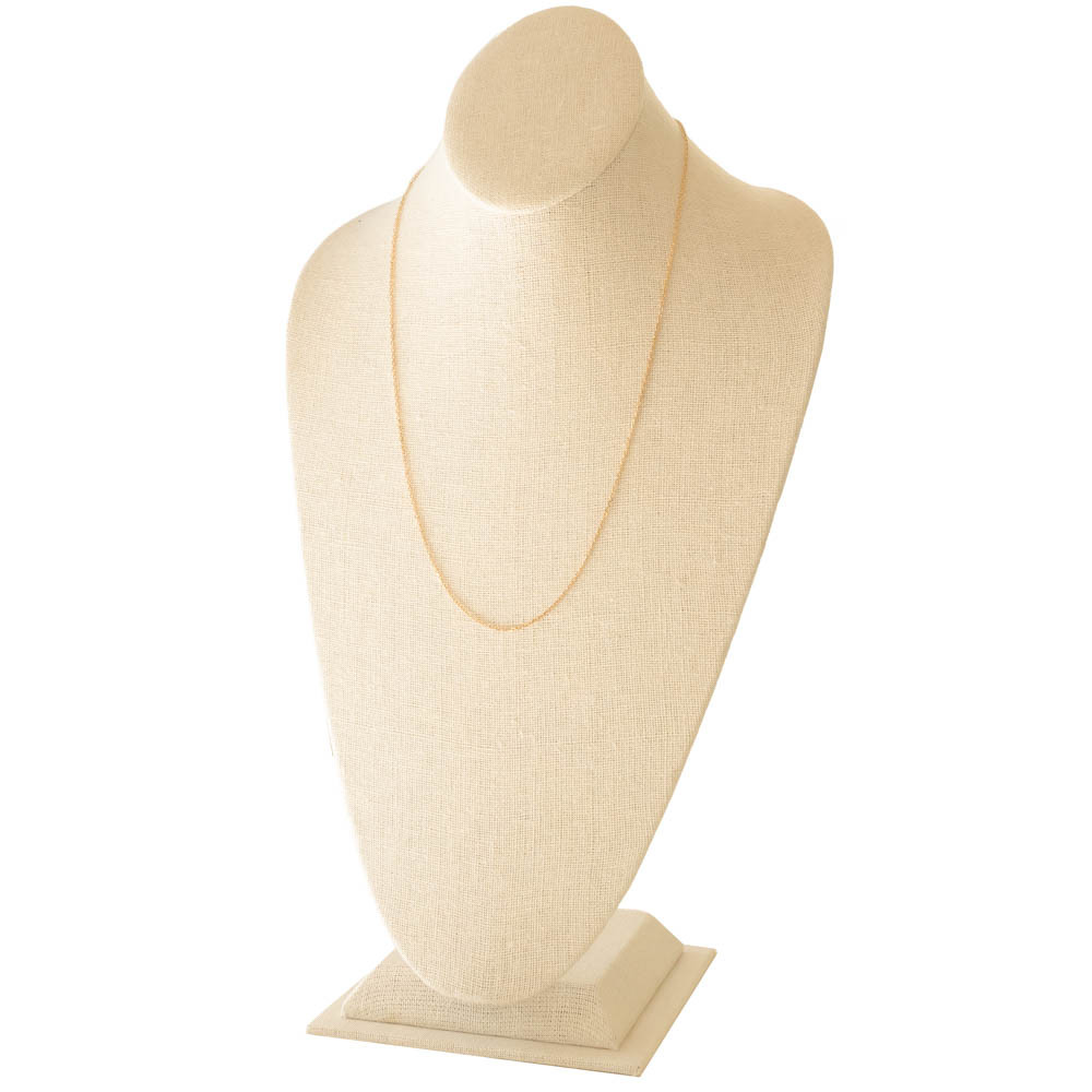 French Cable Link Gold Chain, 18 Karat Gold