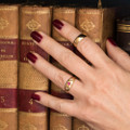 Antique 18 ct Gold and Diamond Ring Stack