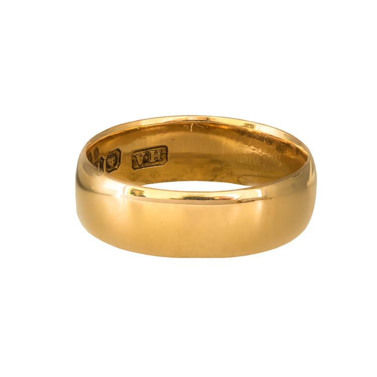 Antique: Edwardian Gold Wedding Band/Stacking Ring