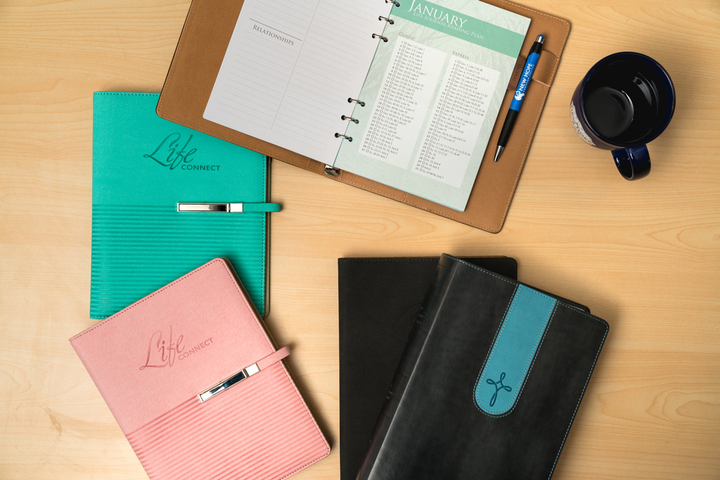 Life Connect - 6 Ring Calendar & Journal (2018)