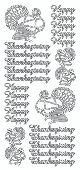 Happy Thanksgiving Sticker