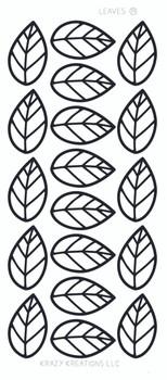 Leaves Outline Sticker