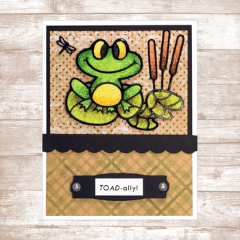 Toad-ally/Frog Card Kit
