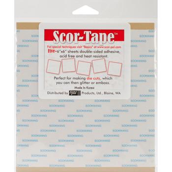 Scor-Tape 6 x 6 Sheets
