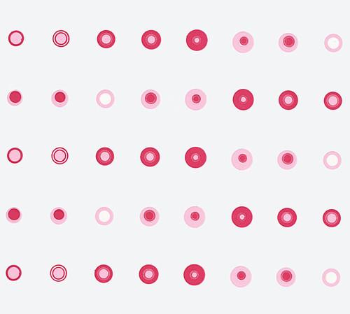 Pink Small Dots