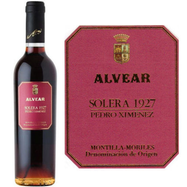 Alvear 1927 Pedro Ximenez Solera (Spain) 375ml