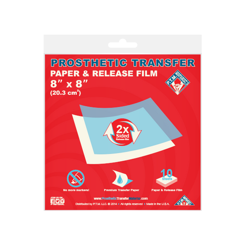 "Transfer Paper & Release Film (8"" x 8"")"