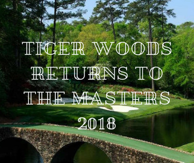 Tiger Woods Returns to the Masters 2018