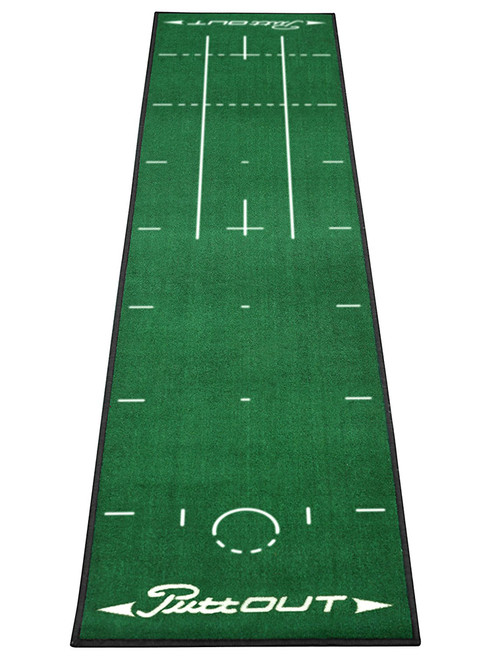 Puttout Pro Golf Putting Mat Green Golfbox