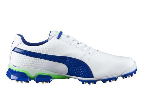 e118e886e6e5 Puma Titan Tour Ignite Golf Shoes - White Surf The Web