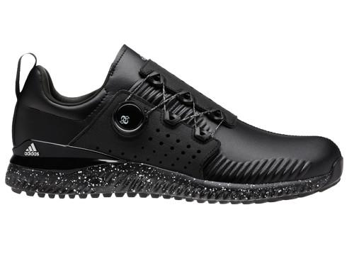 pretty nice 19d7f 82b98 Adidas Adicross Bounce BOA Golf Shoes - Core Black