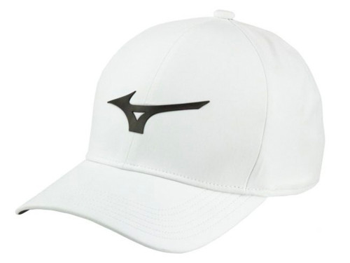 e0f54c4c9be0c Mizuno Tour Delta Cap - Black - Mens - Polyester For Sale