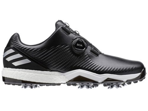 promo code 49d27 8363b Adidas Adipower 4orged BOA Golf Shoes - Core Black Silver