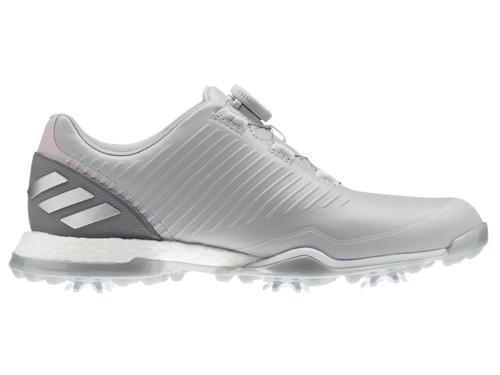 2f0d880c665 Adidas W Adipower 4orged BOA Golf Shoes - Grey Two True Pink