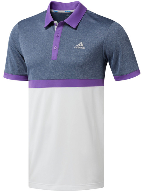 280ce5ef Adidas Climacool 2D Camo Stripe Polo - White - Mens For Sale | GolfBox