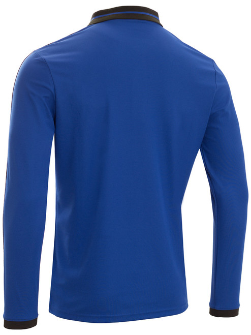 4646a7bf3 Galvin Green Marc Long Sleeve Polo - Navy Snow - Mens For Sale