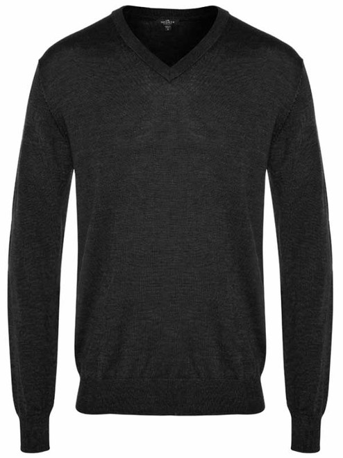 7837bda2efc Sporte Leisure True Knit V-Neck Club Jumper - Black
