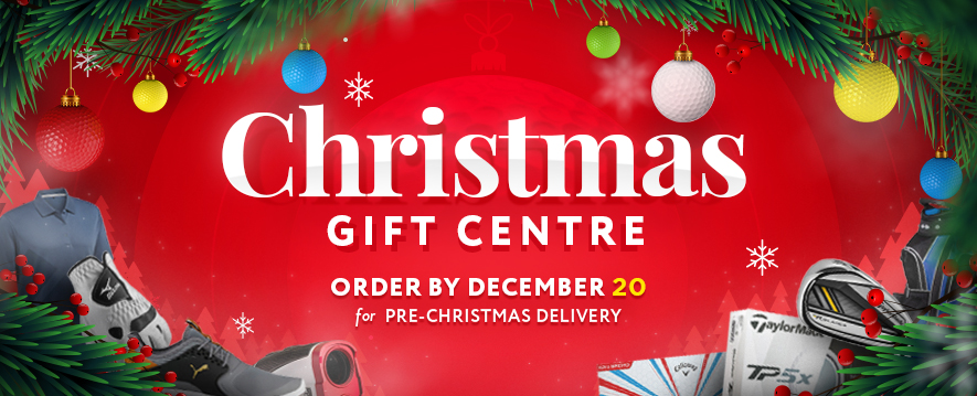 Click here to shop at the GolfBox Christmas Gift Centre