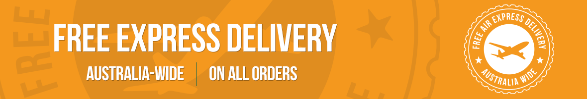 Free Express Delivery - Australia-wide - On all orders
