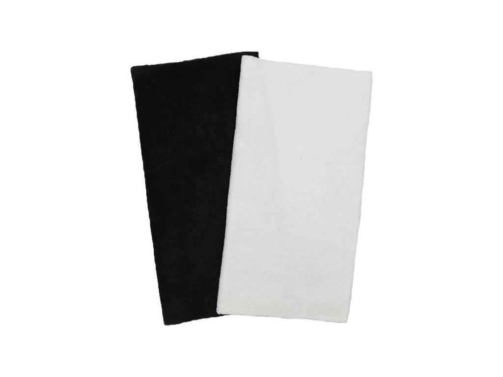 "16""x16"" 20 Pack Ultra Edgeless Microfiber Towels White"