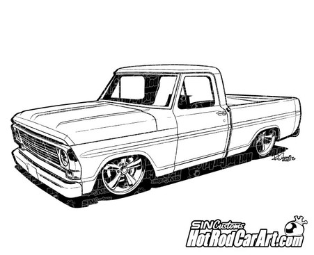 Ford F Clip Art on 1968 Chevy C10 Pick Up