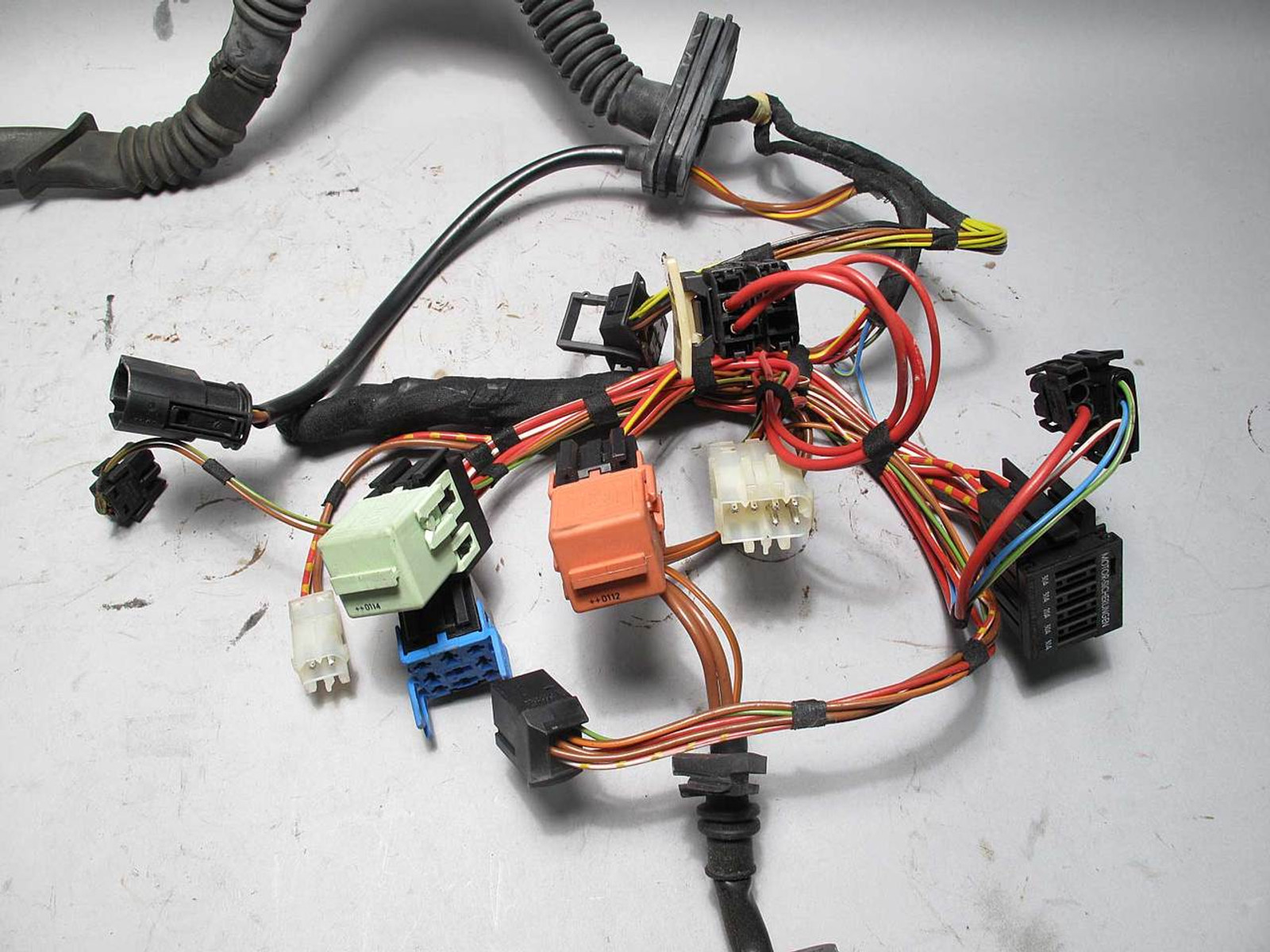 Bmw Z3 Roadster Coupe M54 5 Speed Manual Trans Wiring Harness 2001