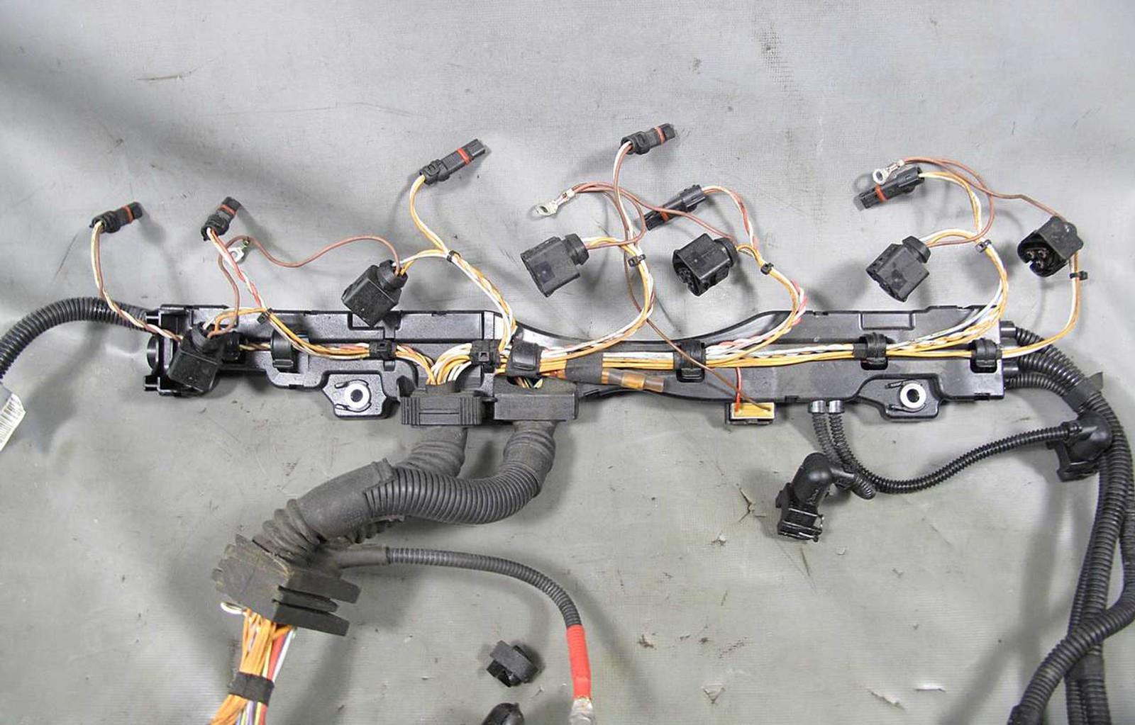 bmw n54 3 0l twin turbo fuel injector ignition coil wiring harness rh prussianmotors com