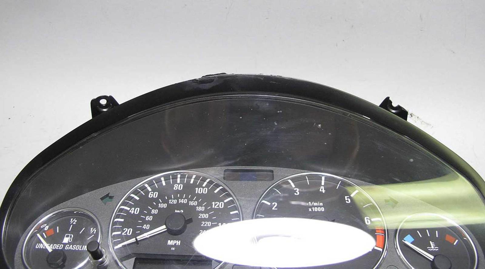 1996 1998 Bmw Z3 19 Roadster 4 Cyl Instrument Gauge Cluster Chrome Engine Diagram