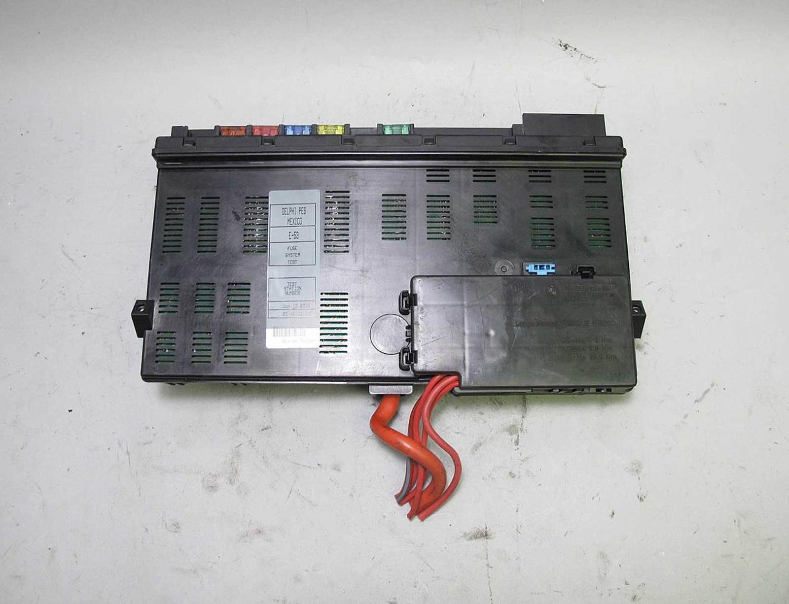 2003 Bmw E53 X5 Sav Interior Under Dash Glove Box Fuse