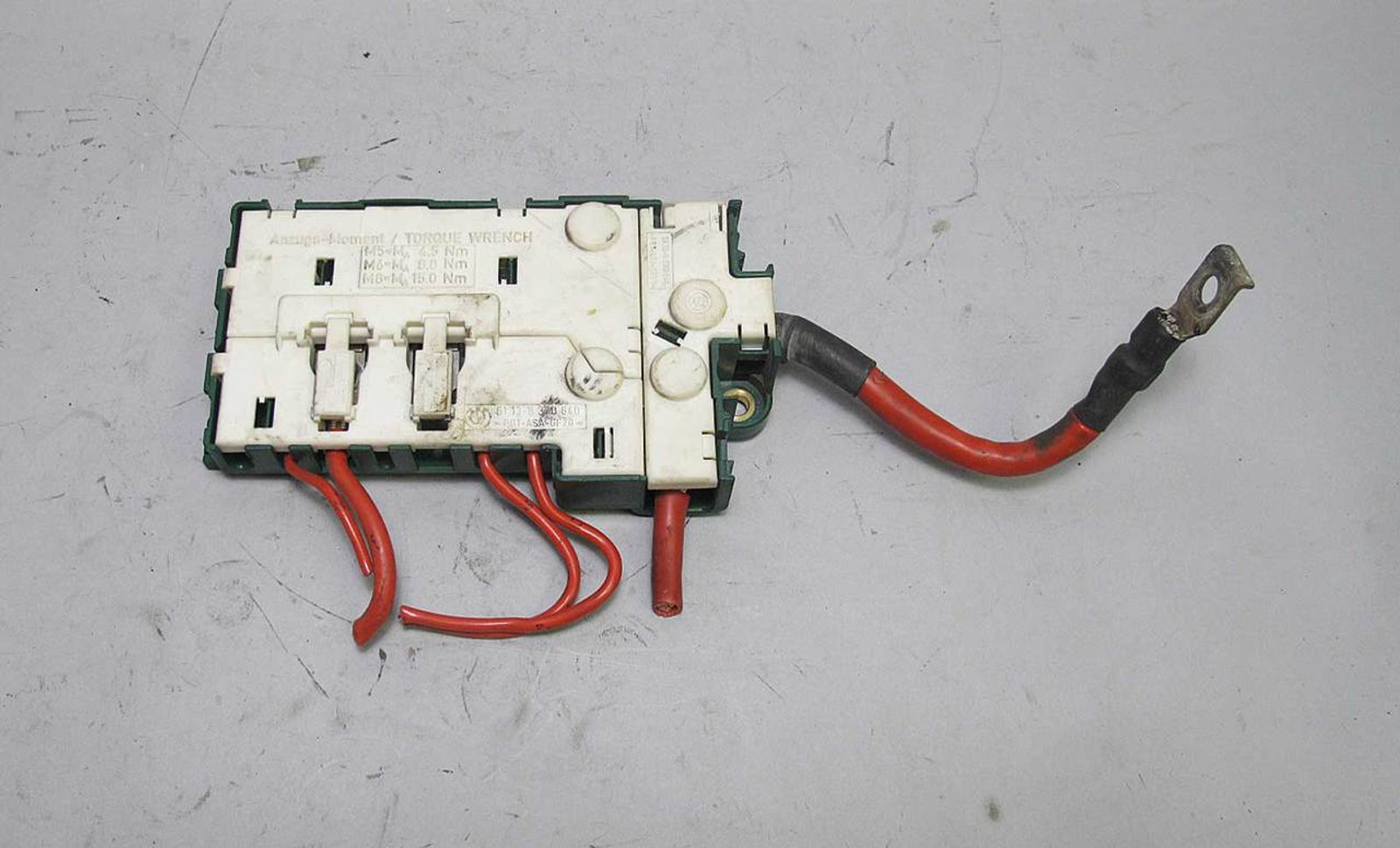Bmw E39 Fuse Box Trunk Electrical Wiring Diagrams Relay Transmissions 5 Series Bus Bar Power Junction Green 1995 Hood