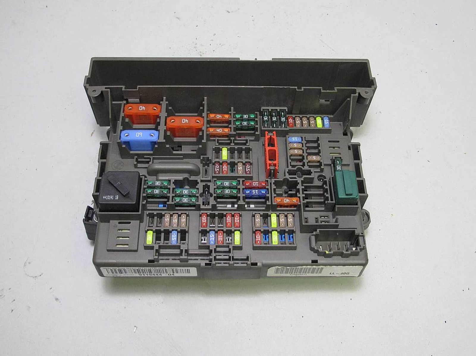 2000 bmw 740il fuse box location