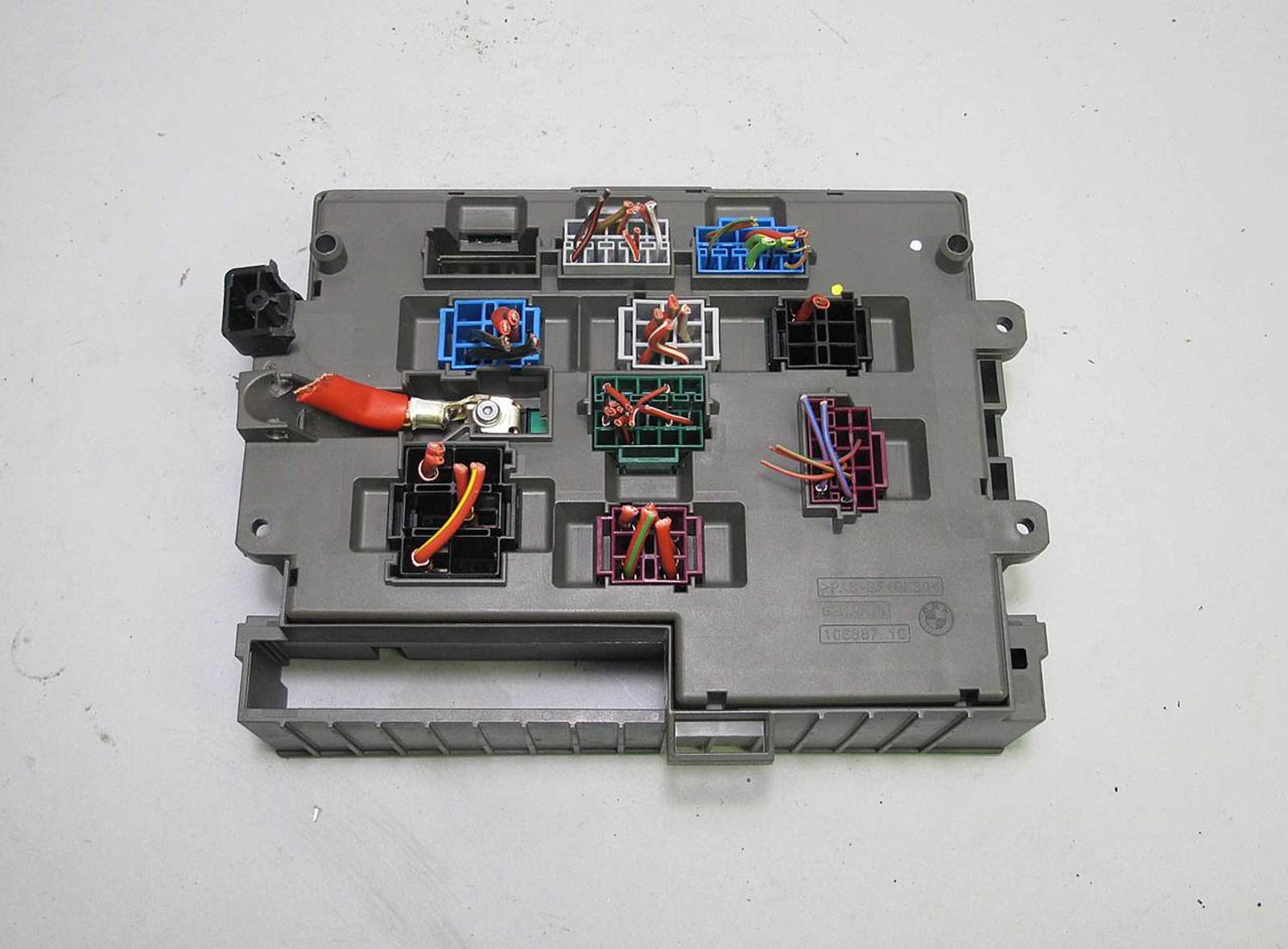 Fuse Box On Bmw E90 Explained Wiring Diagrams Oem 2005 3 Series Power Distribution 6906621 E92 E82 Front Interior Glove 2008 2013 320i