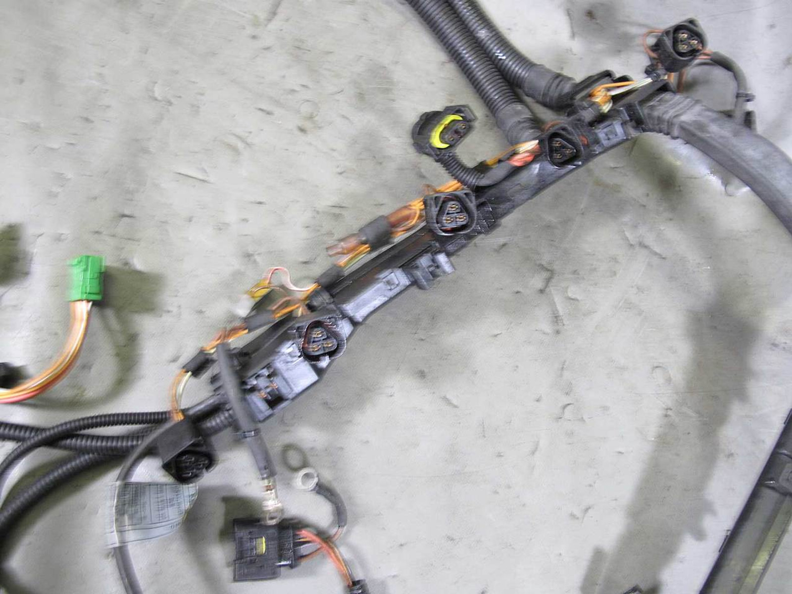 Bmw E83 X3 Sav N52 Late Ignition Coil Fuel Injector Engine Wiring Harness 07 10 Img