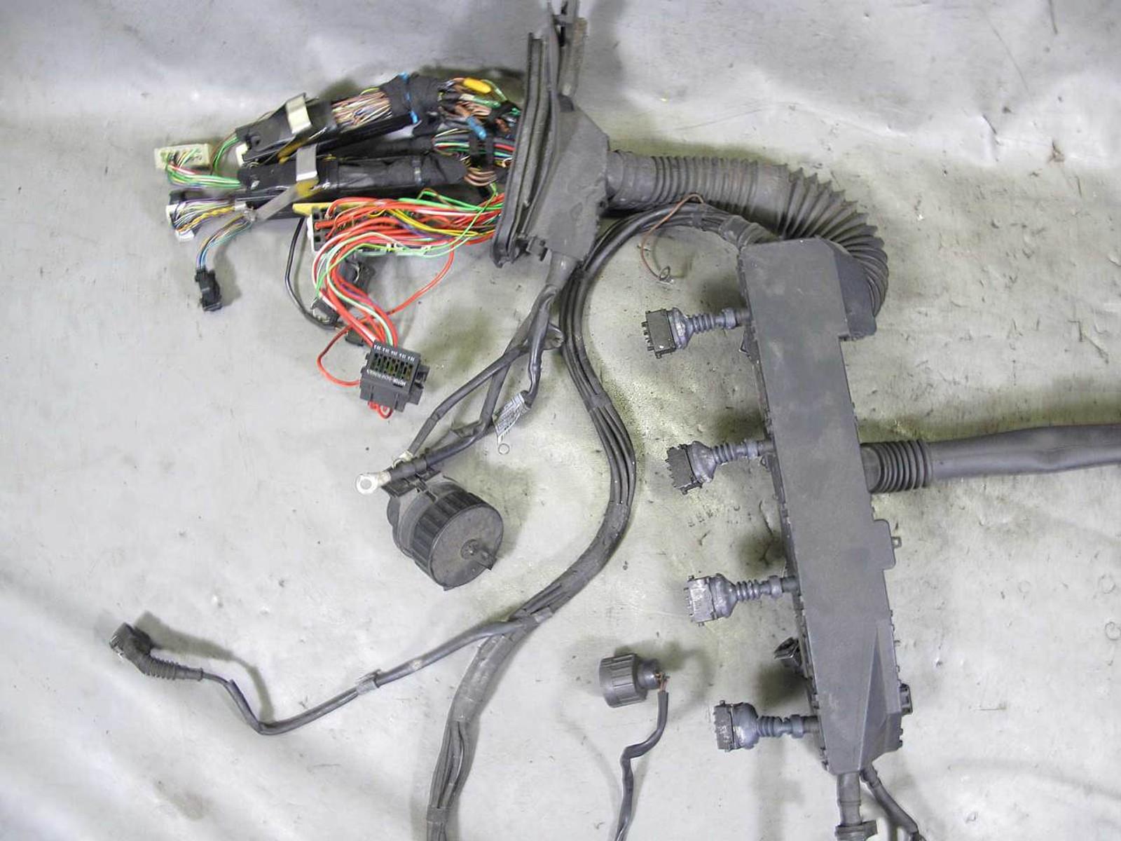1996 1997 bmw e38 740i m62b44 v8 engine wiring harness complete used rh prussianmotors com Wiring Harness Connector Plugs Wiring Harness Terminals and Connectors