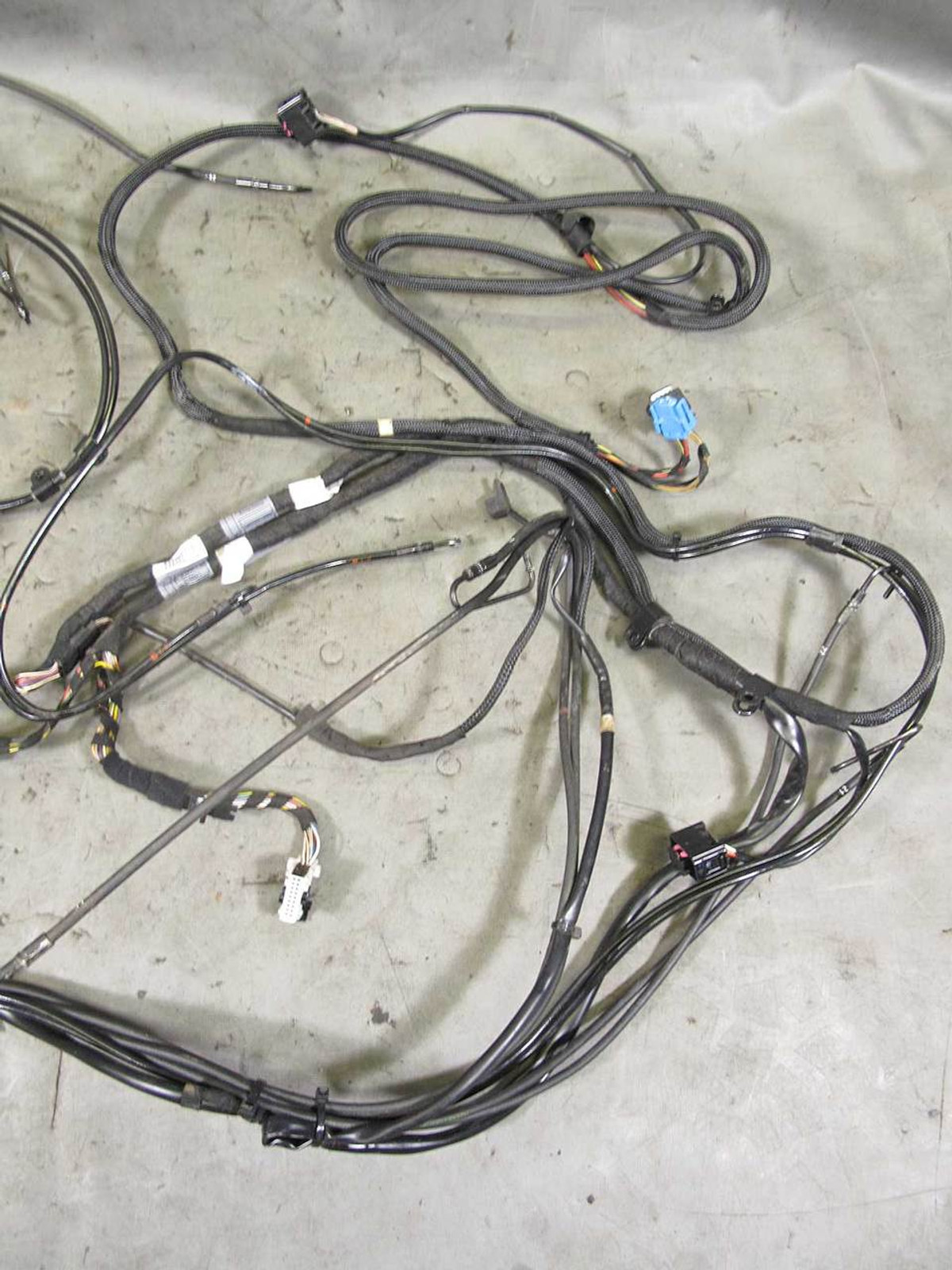 Bmw E64 6 Series Convertible Factory Hydraulic Hoses And Wiring Oem Harness