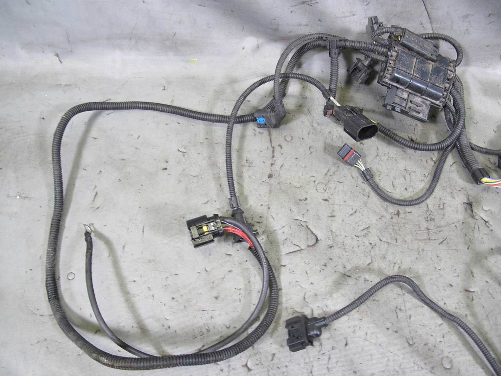 2011 Bmw N55 6 Cylinder Turbo Engine Wiring Harness Sensoric Module Wire