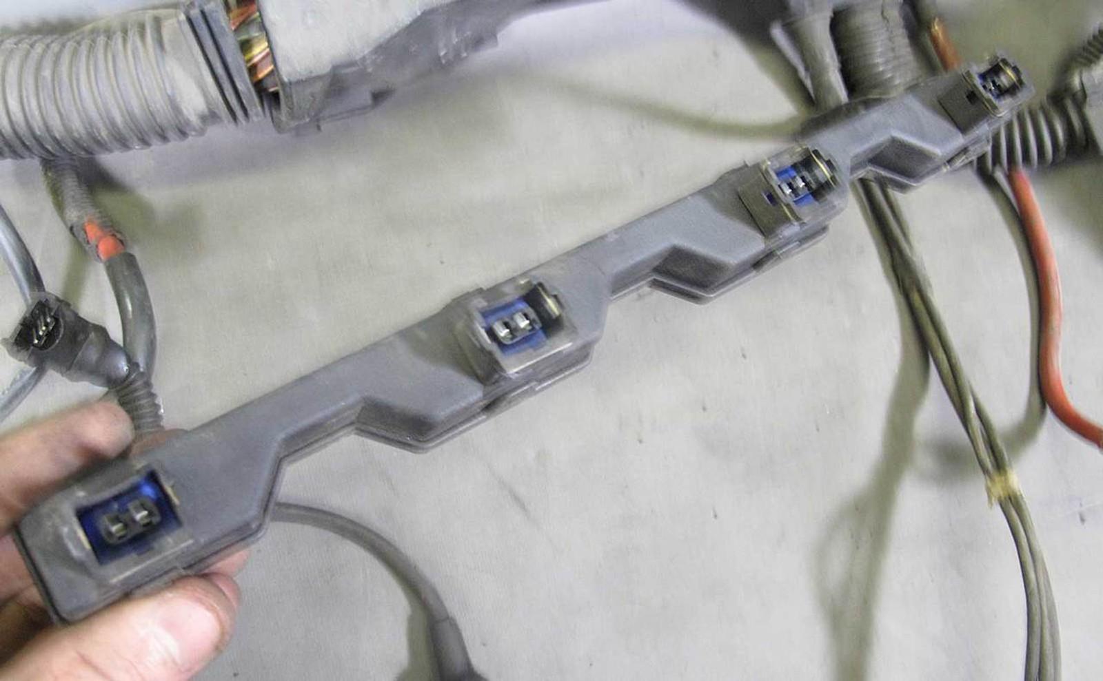1995 bmw e36 318i m42 4 cylinder engine wiring harness complete for bmw radio wiring diagram 1995 bmw wiring harness #19