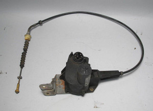BMW E34 525i M20 Engine Early Cruise Control Actuator Motor with Cable 89-90 OEM