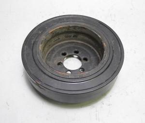 BMW N51 N52 6-Cylinder Factory Crankshaft Pulley Vibration Damper Bare 2006-2013