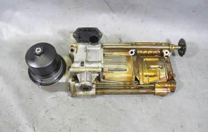 BMW N62N N62TU 4.8L V8 Factory Oil Pump Drive w Filter Housing 2006-2010 USED OE