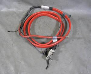 BMW E63 E64 6-Series Factory Undercar Exterior Positive Battery Cable Red 04-10
